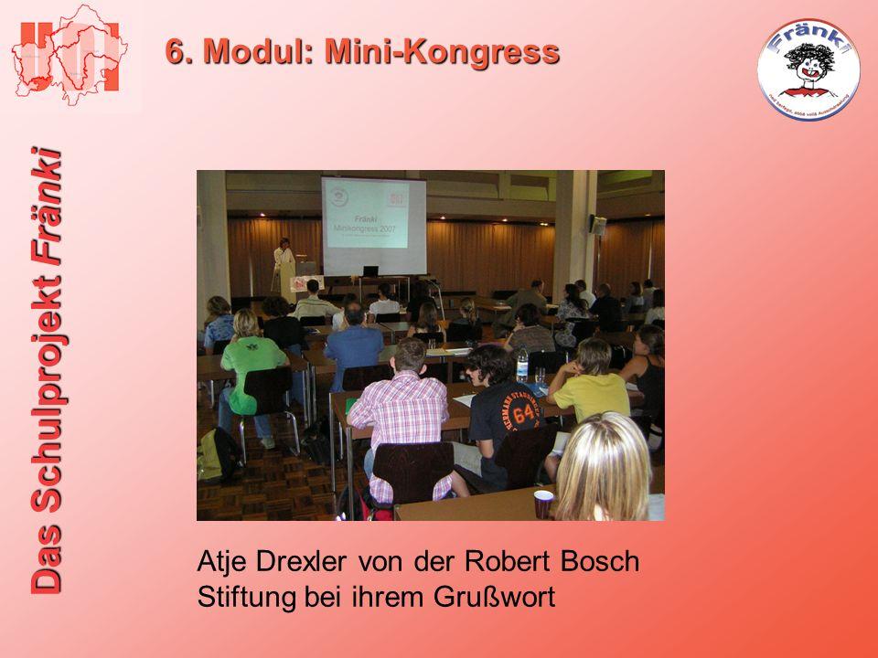6. Modul: Mini-Kongress Atje Drexler von der Robert Bosch