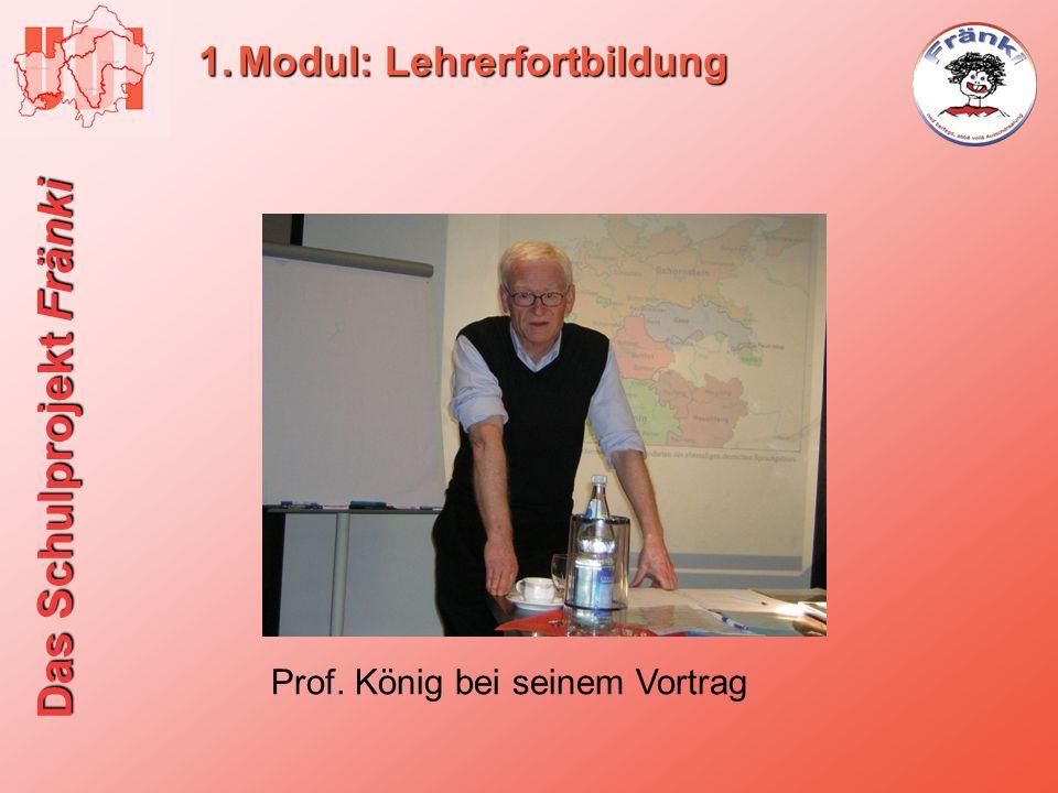 Modul: Lehrerfortbildung
