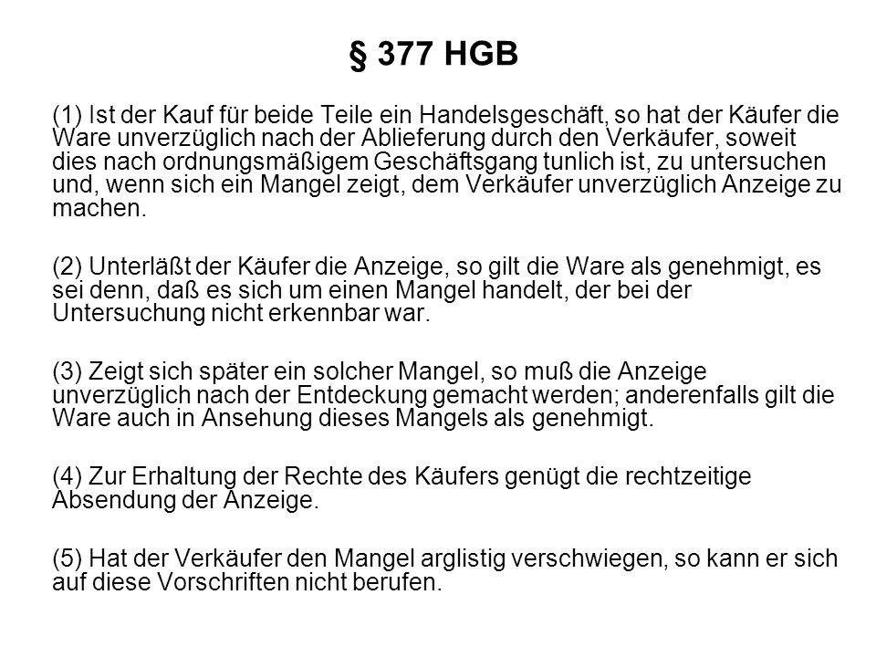 § 377 HGB