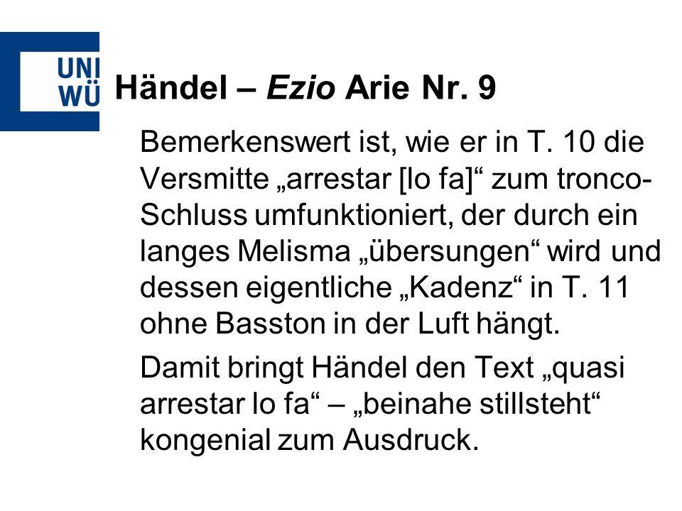 Händel – Ezio Arie Nr. 9