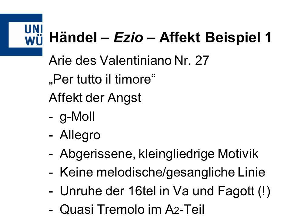 Händel – Ezio – Affekt Beispiel 1