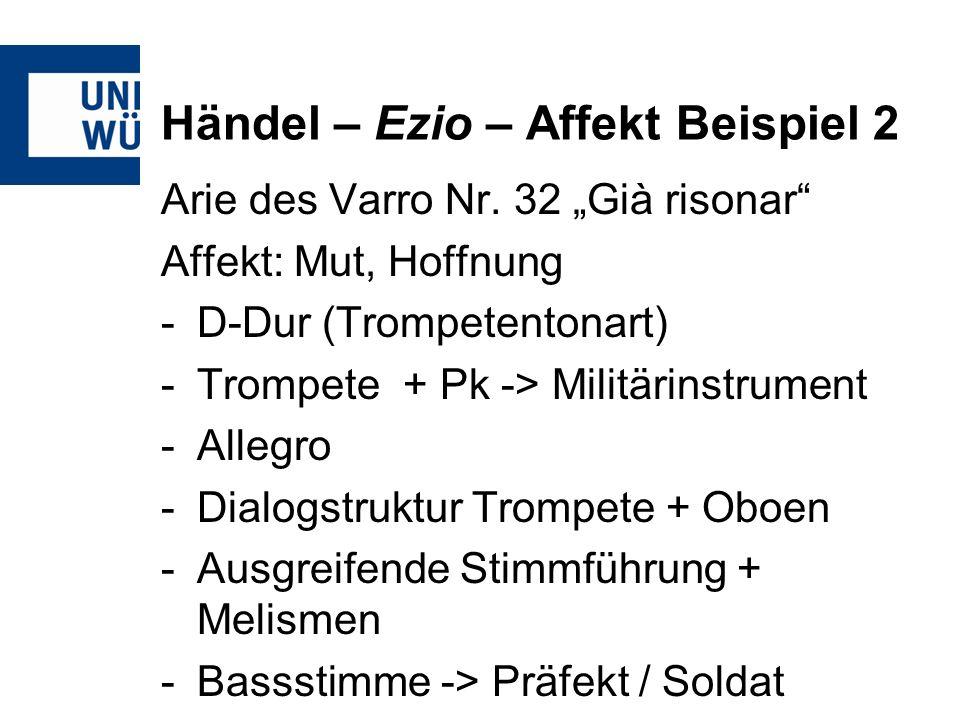 Händel – Ezio – Affekt Beispiel 2