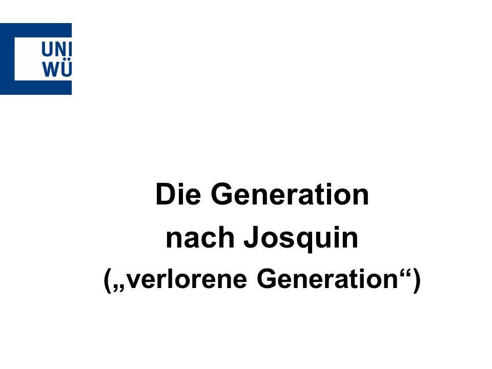 "(""verlorene Generation )"