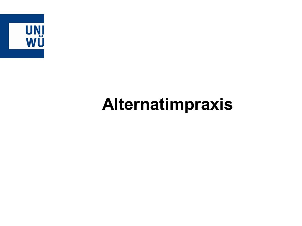 Alternatimpraxis