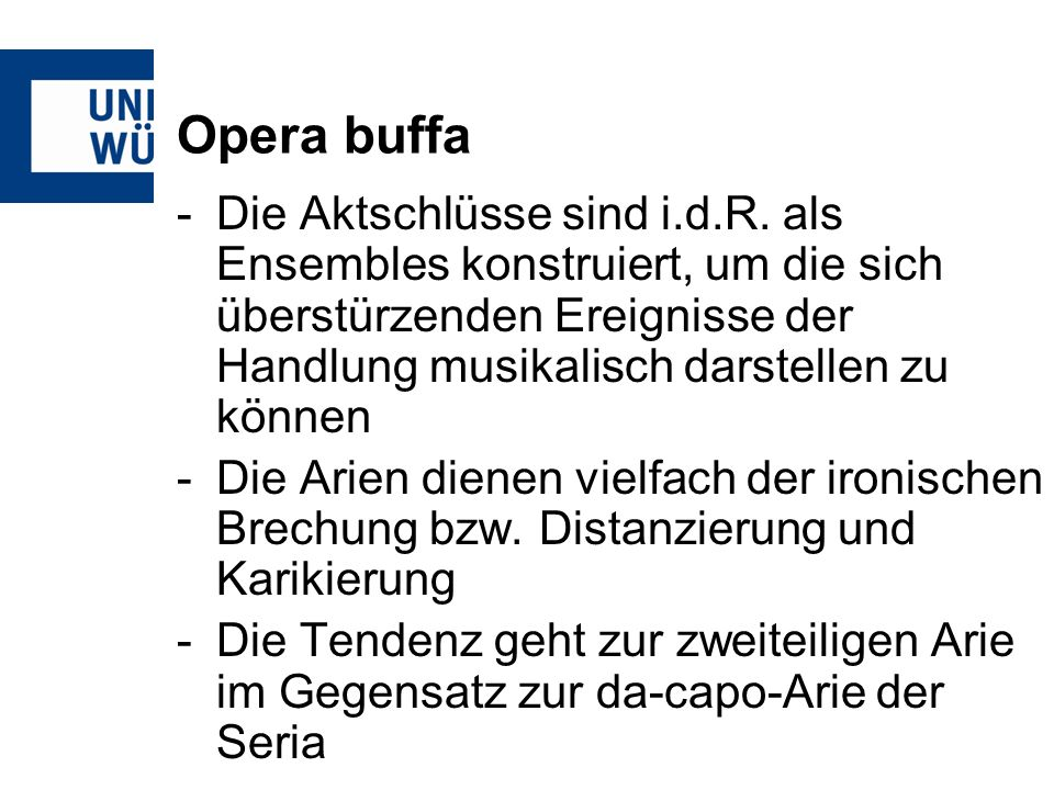 Opera buffa