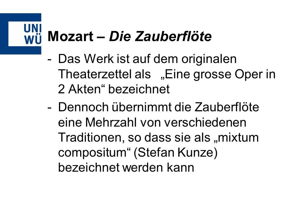 Mozart – Die Zauberflöte