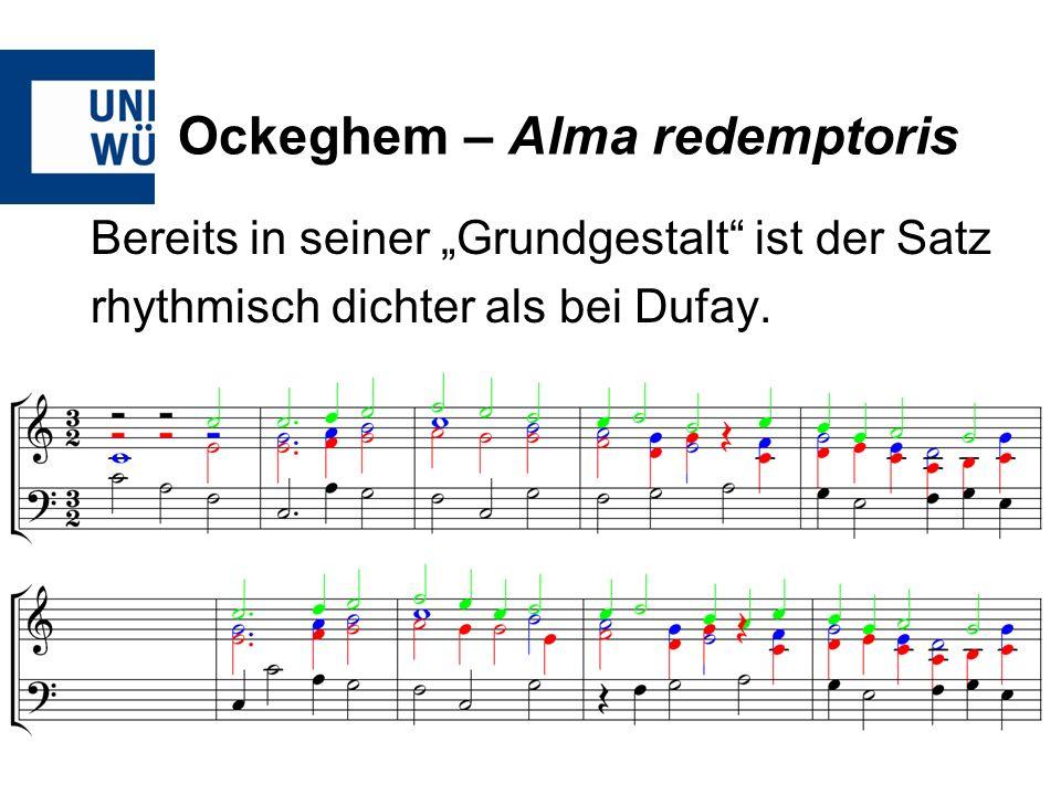 Ockeghem – Alma redemptoris