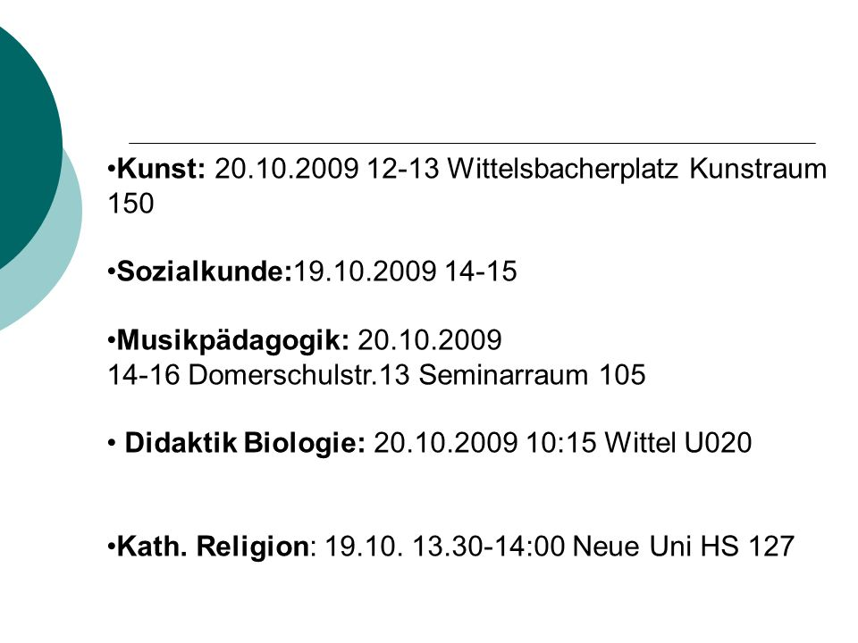 Kunst: 20.10.2009 12-13 Wittelsbacherplatz Kunstraum 150