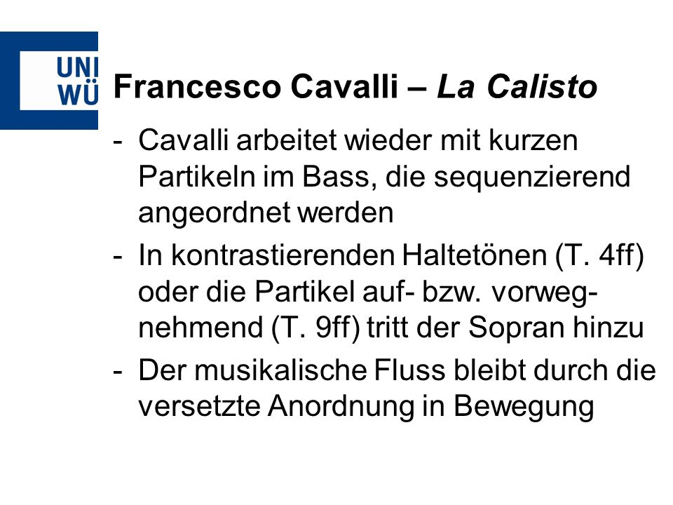 Francesco Cavalli – La Calisto