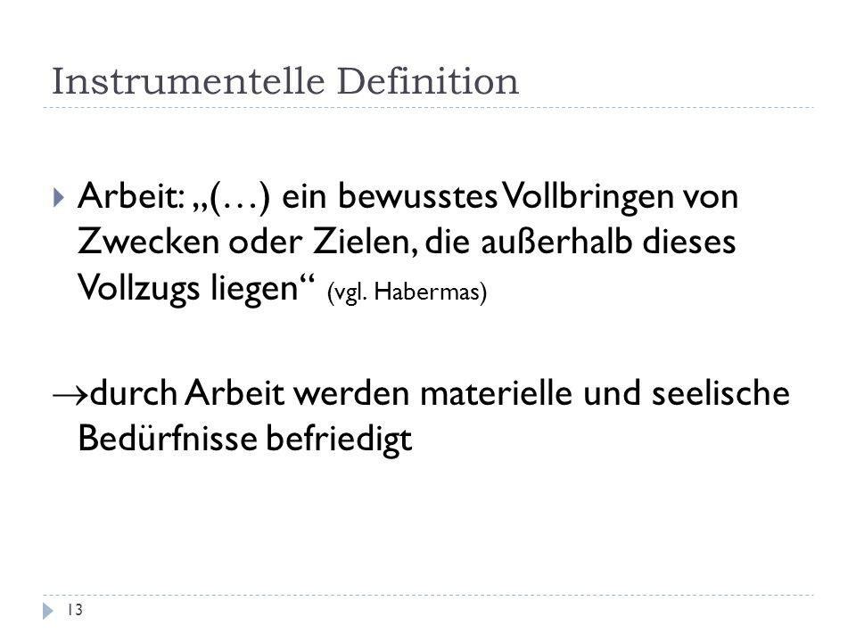 Instrumentelle Definition