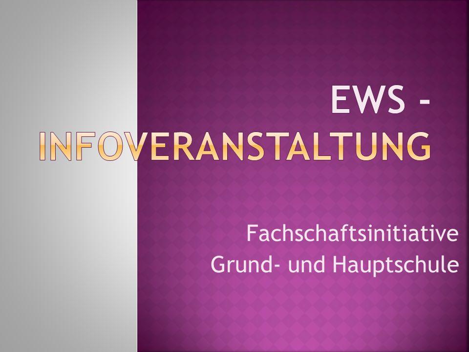 EWS -Infoveranstaltung
