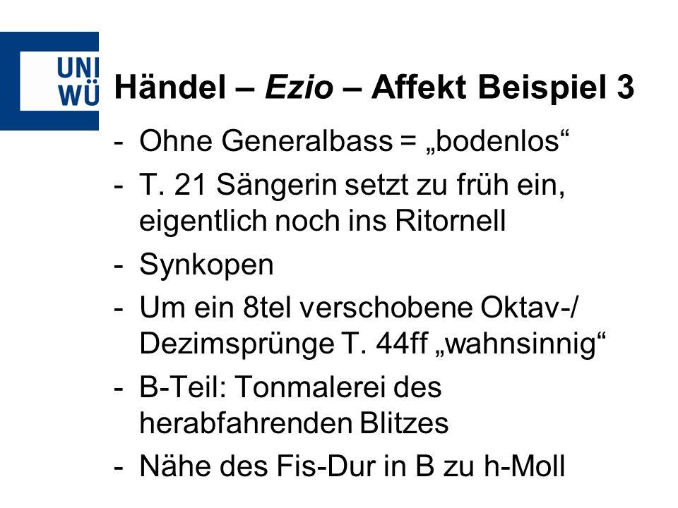 Händel – Ezio – Affekt Beispiel 3