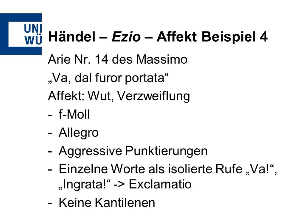 Händel – Ezio – Affekt Beispiel 4