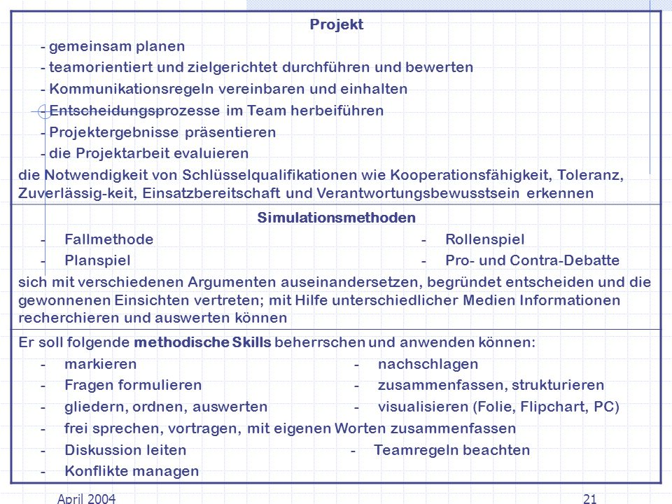 Projekt Simulationsmethoden