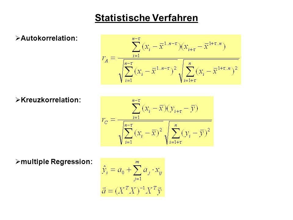 Statistische Verfahren