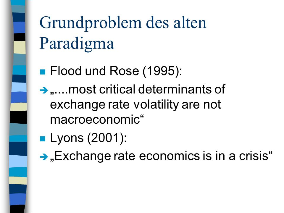 Grundproblem des alten Paradigma