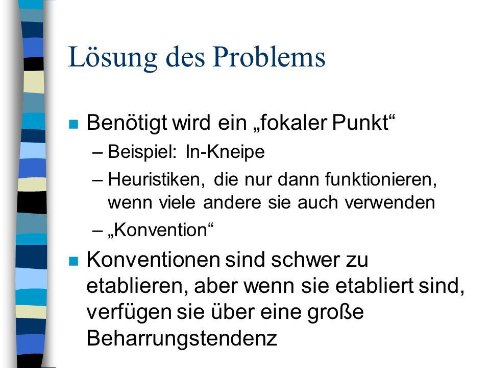 """Lösung des Problems Benötigt wird ein """"fokaler Punkt"""