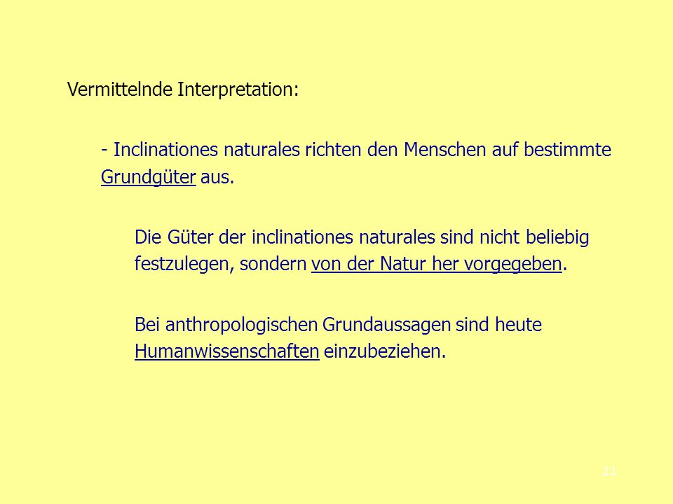 Vermittelnde Interpretation: