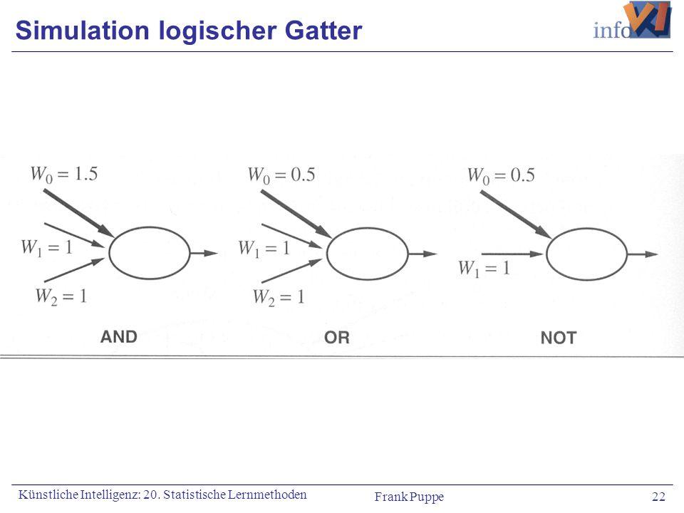 Simulation logischer Gatter