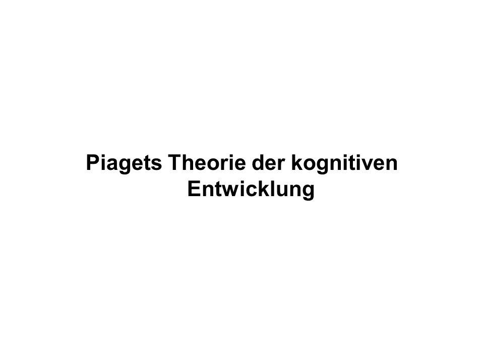 Piagets Theorie der kognitiven Entwicklung
