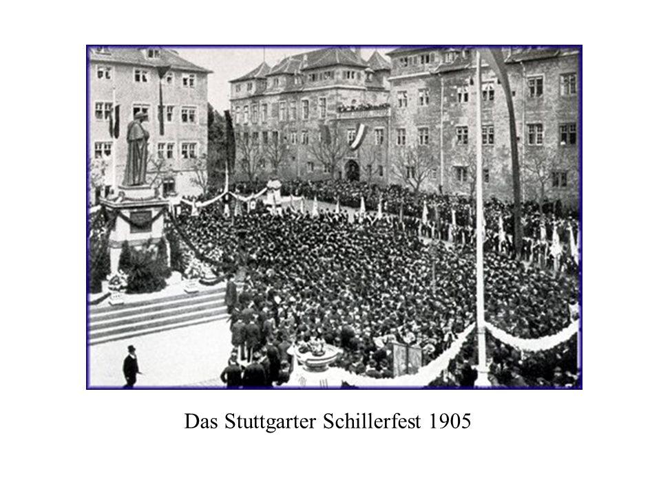 Das Stuttgarter Schillerfest 1905