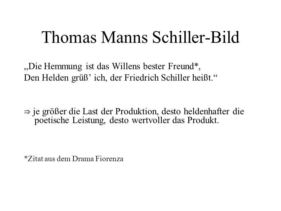 Thomas Manns Schiller-Bild