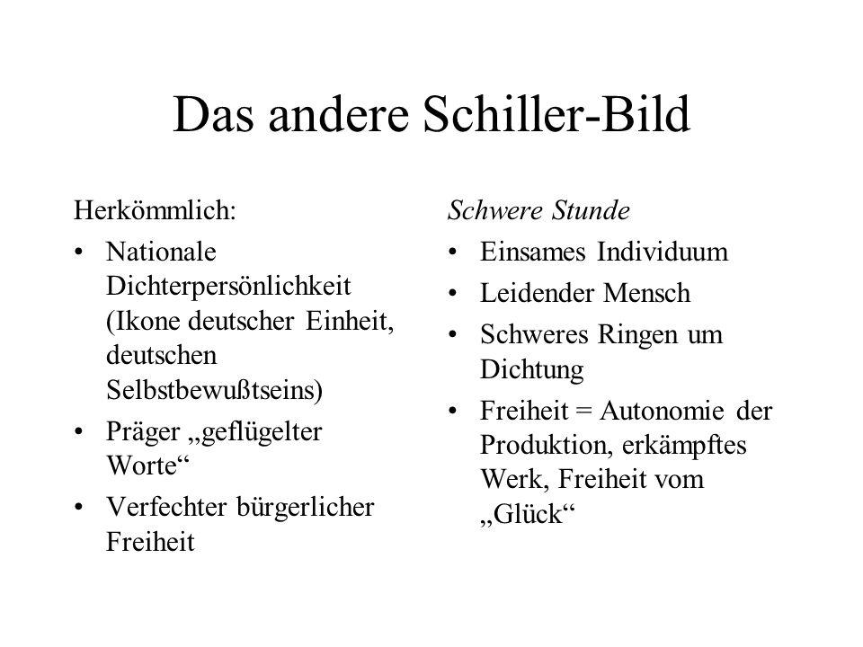 Das andere Schiller-Bild