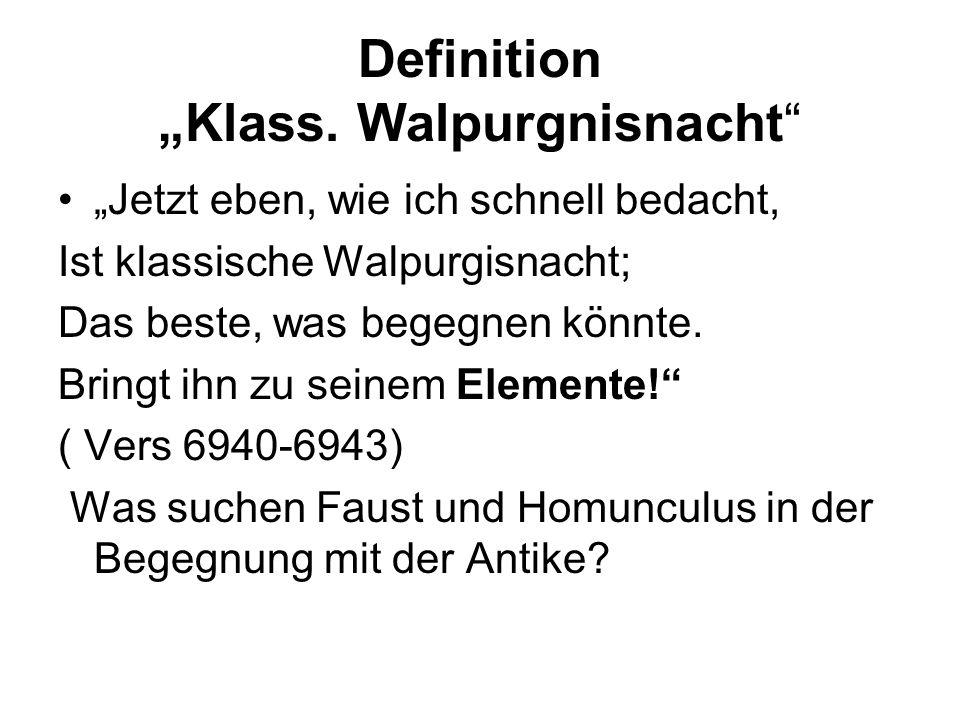 """Definition """"Klass. Walpurgnisnacht"""