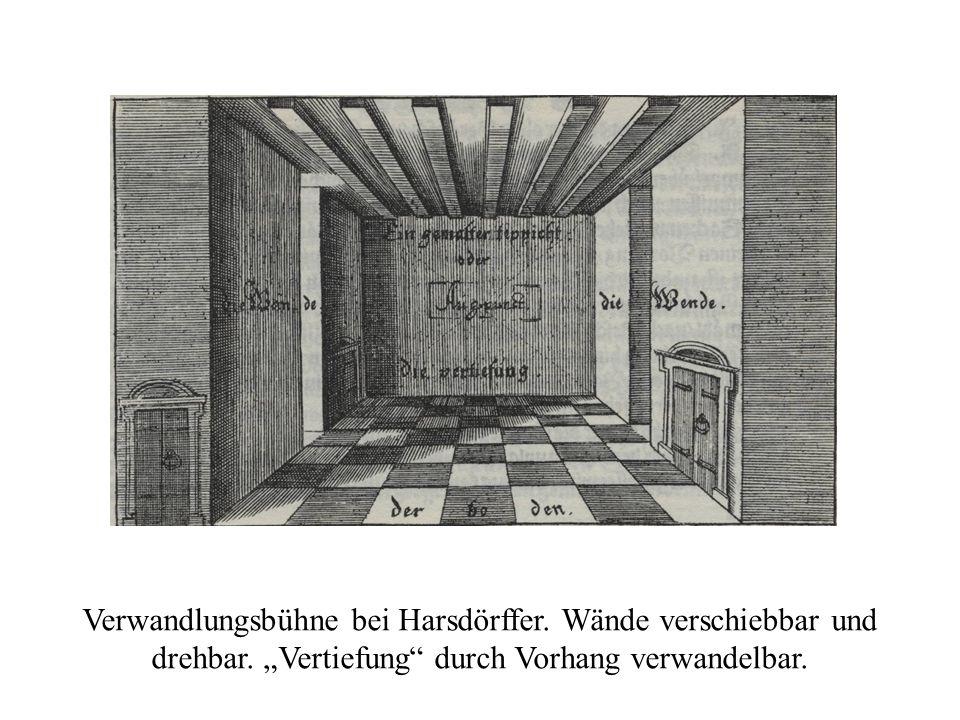 Harsdörffer, GS VI 169 Verwandlungsbühne bei Harsdörffer.
