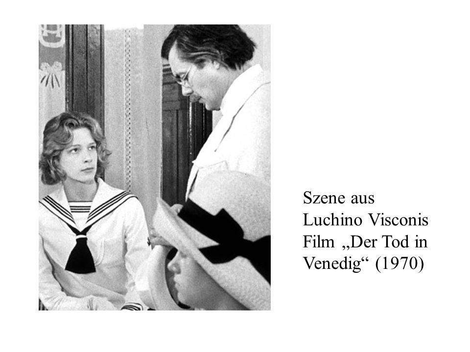 """Szene aus Luchino Visconis Film """"Der Tod in Venedig (1970)"""