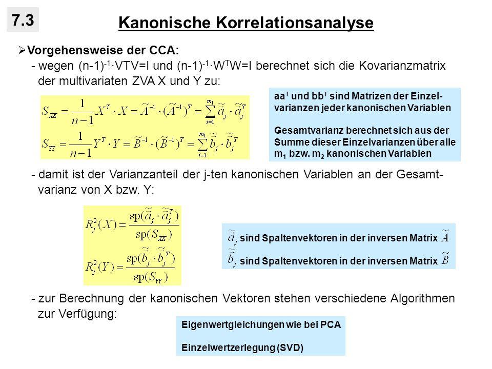 Kanonische Korrelationsanalyse