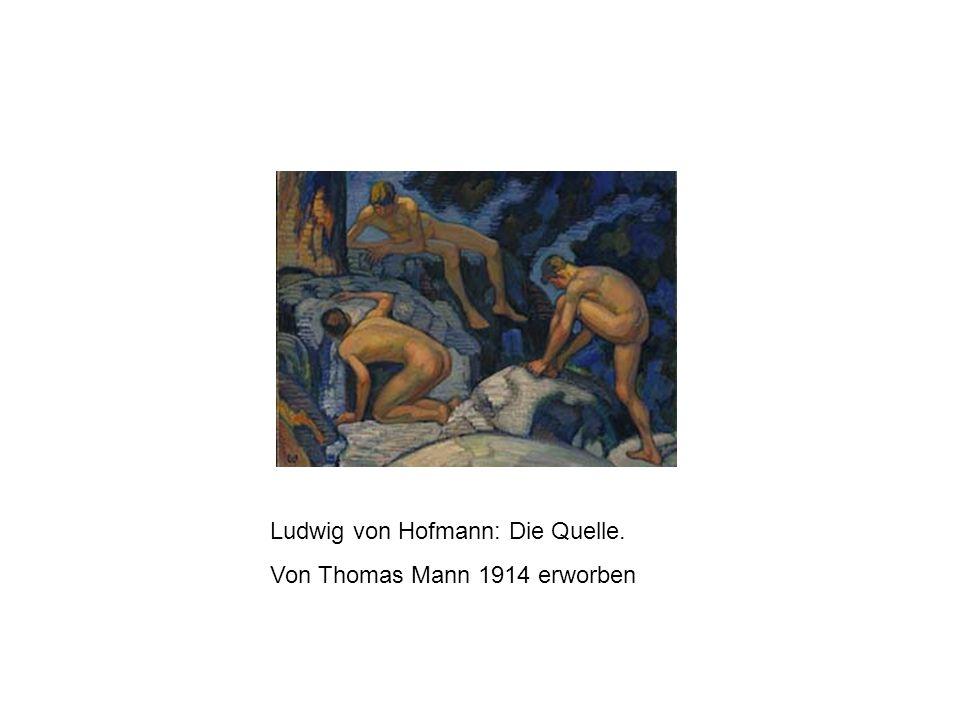 Ludwig von Hofmann: Die Quelle.