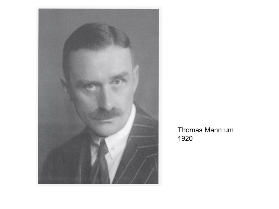 Thomas Mann um 1920