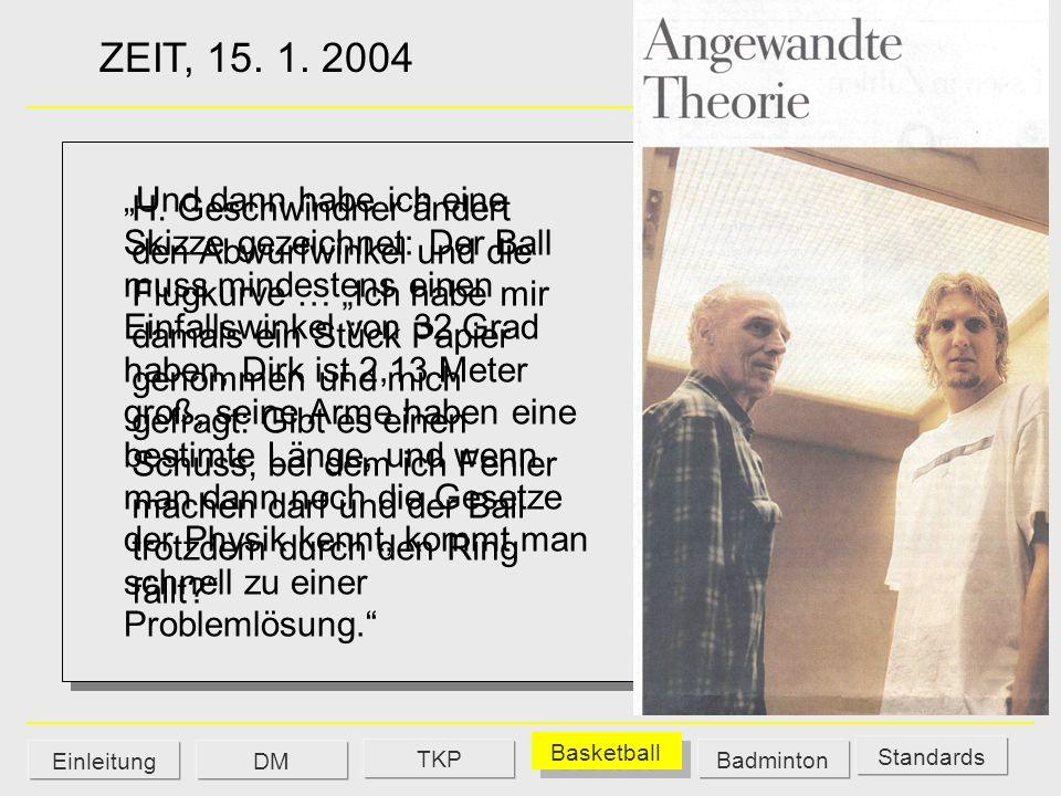 ZEIT, 15. 1. 2004