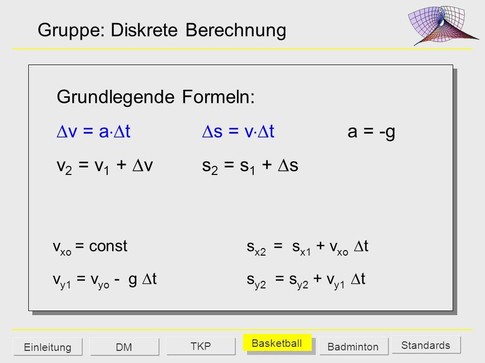 Gruppe: Diskrete Berechnung