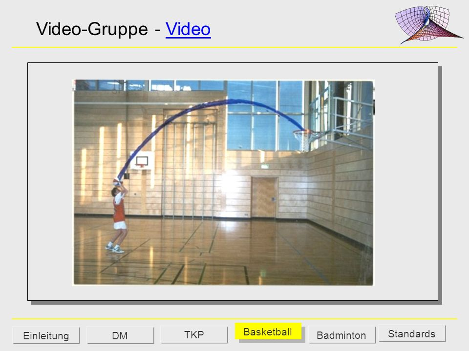 Video-Gruppe - Video TKP Basketball Einleitung DM Badminton Standards