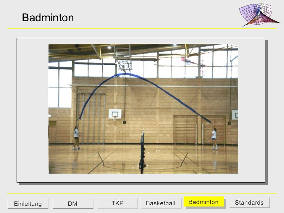 Badminton Einleitung DM TKP Basketball Badminton Standards