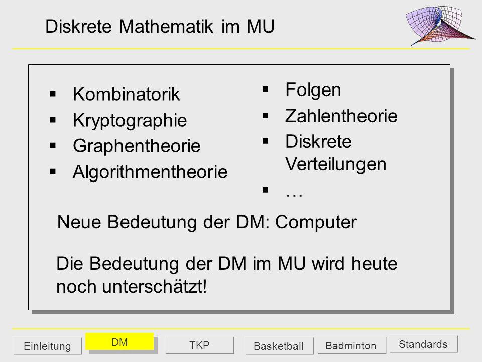 Diskrete Mathematik im MU