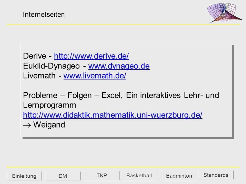 Derive - http://www.derive.de/ Euklid-Dynageo - www.dynageo.de