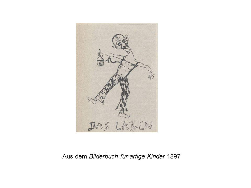 Aus dem Bilderbuch für artige Kinder 1897