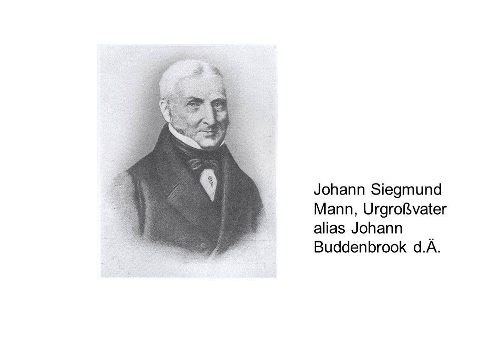 Johann Siegmund Mann, Urgroßvater