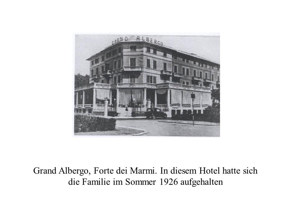 Grand Albergo, Forte dei Marmi