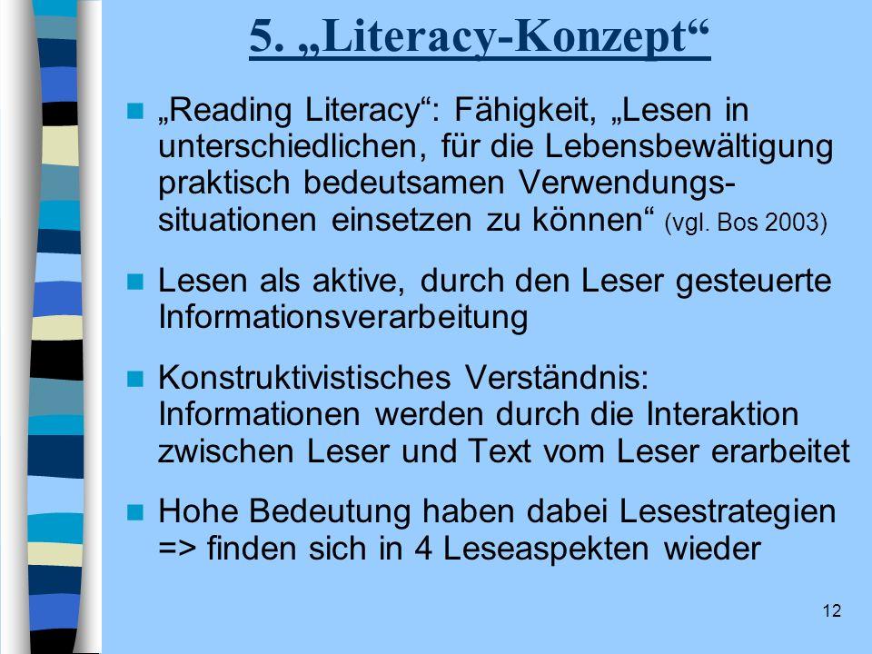 """5. """"Literacy-Konzept"""