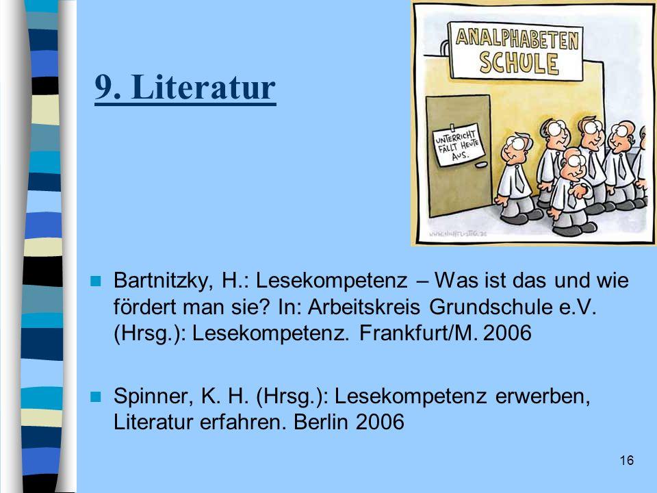 9. Literatur