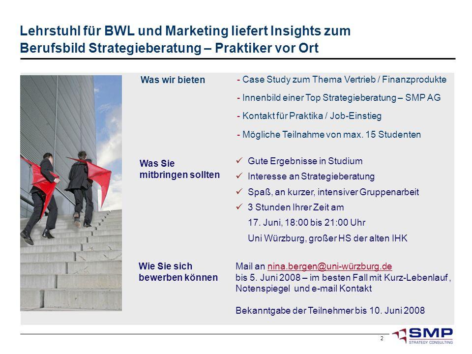 Lehrstuhl für BWL und Marketing liefert Insights zum Berufsbild Strategieberatung – Praktiker vor Ort