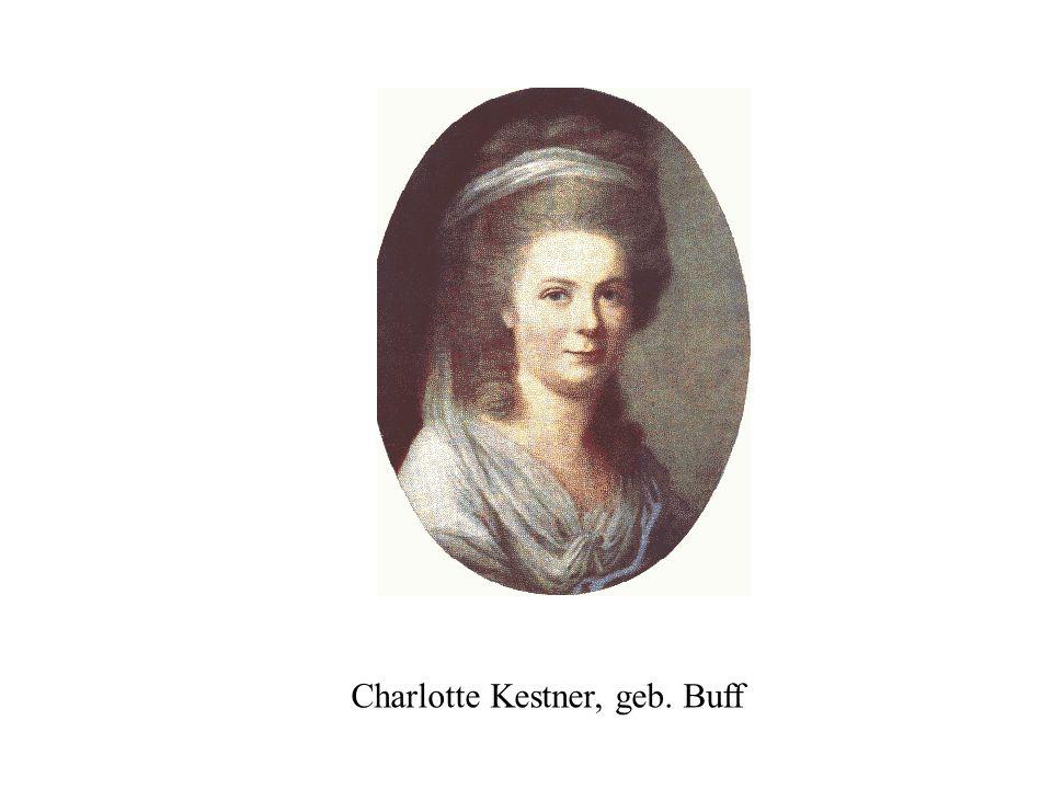 Charlotte Kestner, geb. Buff