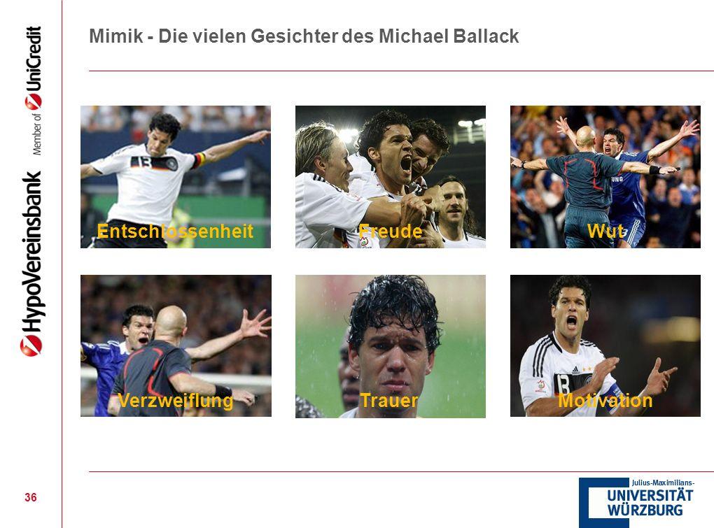 Mimik - Die vielen Gesichter des Michael Ballack