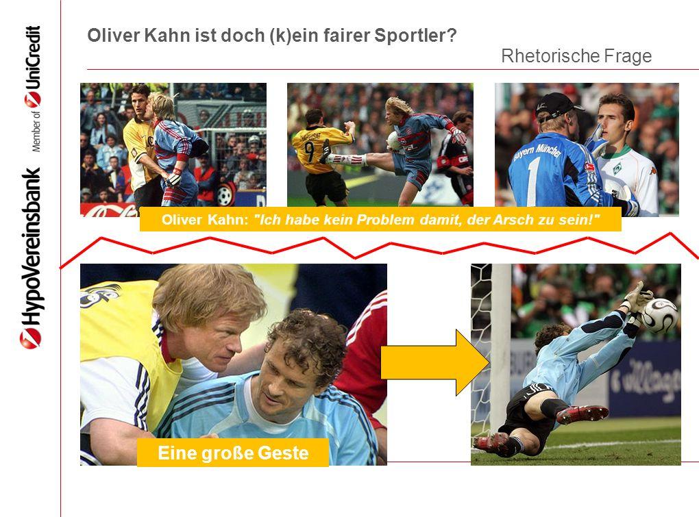 Oliver Kahn ist doch (k)ein fairer Sportler