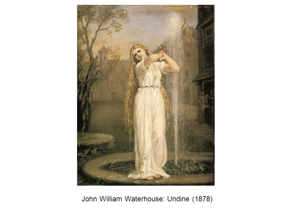 John William Waterhouse: Undine (1878)