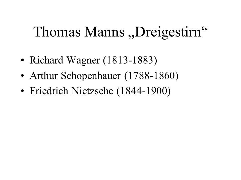 """Thomas Manns """"Dreigestirn"""
